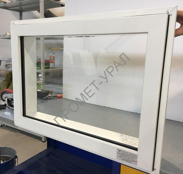 Рентгенозащитное окно 1000х800мм